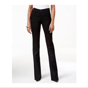 Style & Co tummy control dark bootcut jeans 12